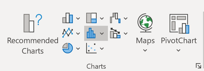 Box and whisker plot option in Excel 2016
