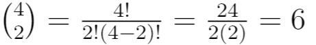 Binomial coefficient example